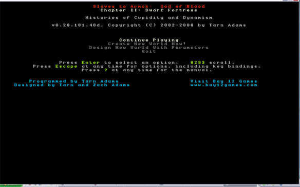 The Complete and Utter Newby Tutorial for Dwarf Fortress