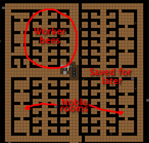 The Complete And Utter Newby Tutorial For Dwarf Fortress Part - Bedroom design dwarf fortress